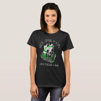 He, IDSA u. CDC Lyme Krankheits-Shirt T-Shirt