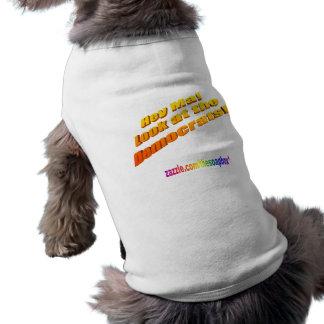 He MA-Blick auf den Demokrattransport Shirt