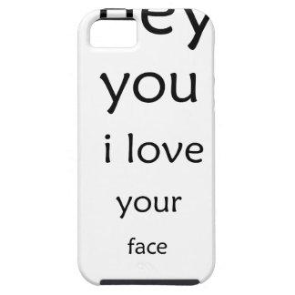 he Sie i-Liebe Ihr Gesicht iPhone 5 Etui