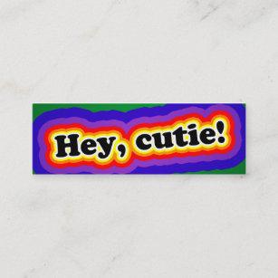 visitenkarte zum flirten