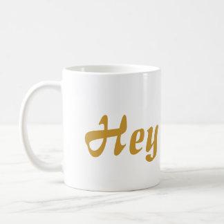 He Süsse-Goldbeschriftung Kaffeetasse