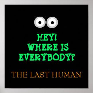 HE!  WO IST JEDER? - Plakat