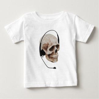 HeadphoneSkull042109 Baby T-shirt