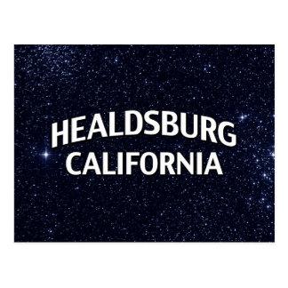 Healdsburg Kalifornien Postkarte