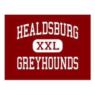 Healdsburg - Windhunde - hoch - Healdsburg Postkarte