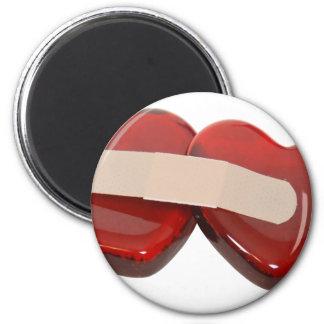HealingHearts062709 Runder Magnet 5,7 Cm