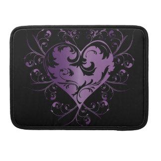 Heart purple sleeves für MacBook pro