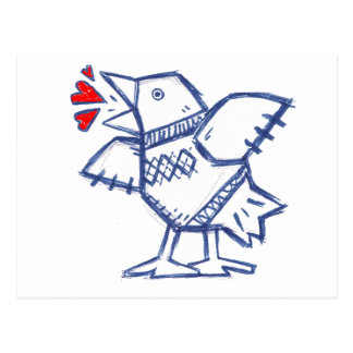 Heartbird Postkarte