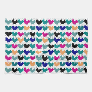 Hearts Handtuch