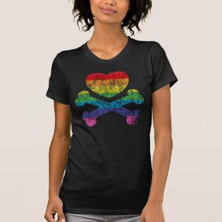 heartz und Knochen T-Shirt