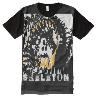 #Heavy Metal T-Shirt Skeleton für Skater