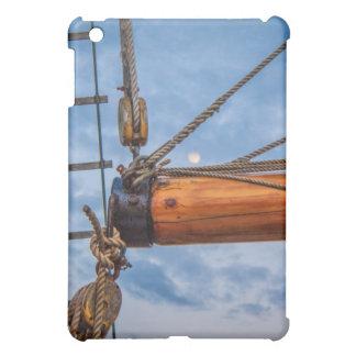Hebemaschinen-und Kranbalken-Segelboot iPad Mini Hülle
