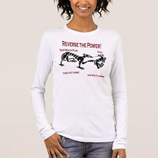 Heben Sie den Power auf Langarm T-Shirt