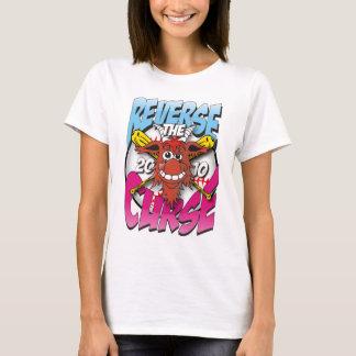 heben Sie die Fluchdamen-Spaghettispitze auf T-Shirt