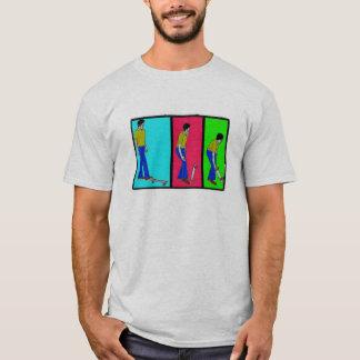 heben Sie Ihren Mosaikfilter des Skateboards w T-Shirt