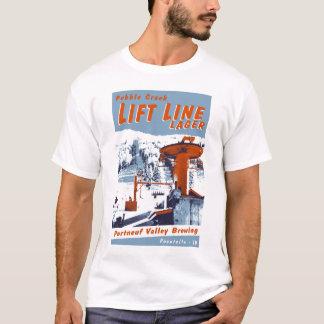 Heben Sie Linie Lager an T-Shirt