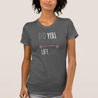 Heben Sie sogar, SIS an? T-Shirt