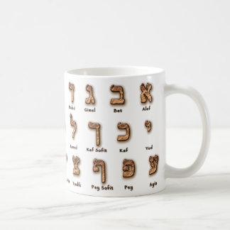 Hebräer Alef Wetten-Tasse Kaffeetasse