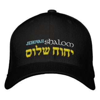 Hebräer Jehovahs Shalom Flexfit Hut