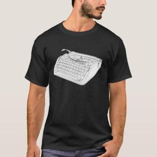 Hebräische Schreibmaschine T-Shirt