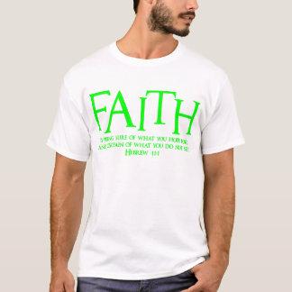 Hebräisches 11:1, green2 T-Shirt
