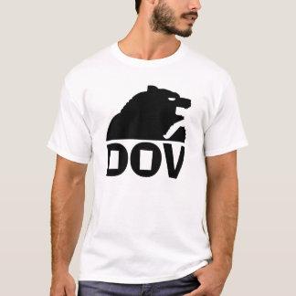 Hebräisches Schwarzes des Bärn-(Dov) T-Shirt