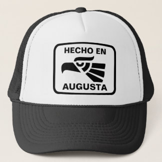 Hecho en Augusta personalizado Gewohnheit Truckerkappe