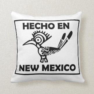 Hecho en-New Mexiko gemacht im New Mexiko Kissen