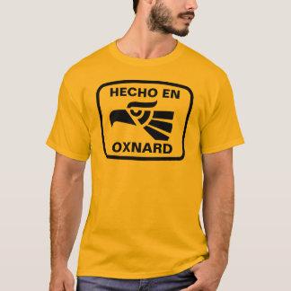 Hecho en Oxnard personalizado Gewohnheit T-Shirt