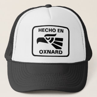Hecho en Oxnard personalizado Gewohnheit Truckerkappe