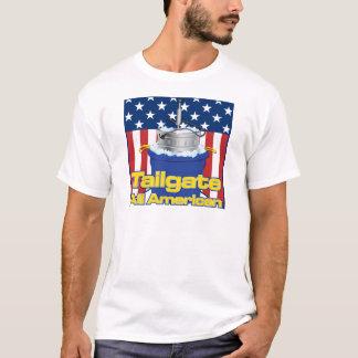 Heckklappe ganz amerikanisch T-Shirt