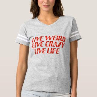 Heckklappen-Fußball-Shirt des Livelebens T-shirt