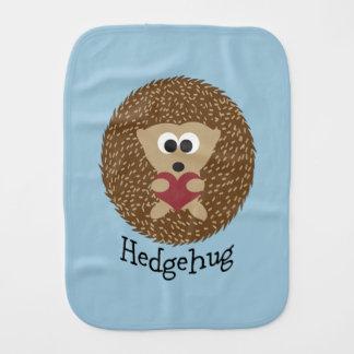 Hedgehug Igel Baby Spucktuch