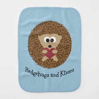 Hedgehugs und Kuss-Igel Spucktuch