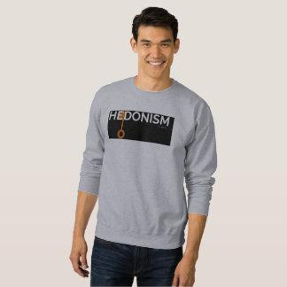 Hedonism-Vorlagen-Schweiss-Männer Sweatshirt