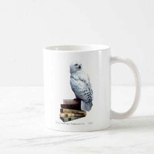 Hedwig auf Büchern Teetassen