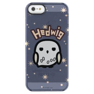 Hedwig-Cartoon-Charakter-Kunst Durchsichtige iPhone SE/5/5s Hülle