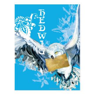 Hedwig Postkarte