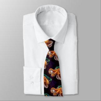 He'e (Krake) mit Cowry Krawatten