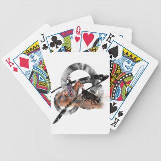 Heeler Bicycle Spielkarten