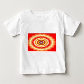 """Heftig muticolored """"Bullaugen"""" Hintergrund Baby T-shirt"""