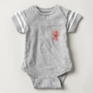 Heftige kleine Dame Baby Strampler