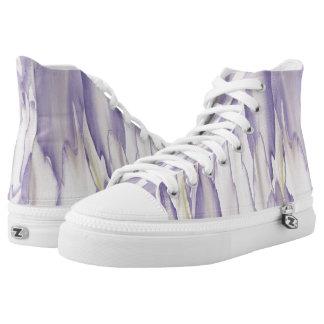 Heftige Orchidee Hoch-geschnittene Sneaker