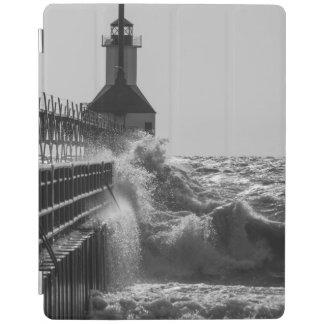 Heftige Wellen an St JosephGrayscale iPad Smart Cover