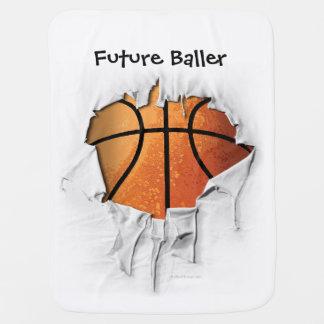 Heftiger Basketball Babydecke