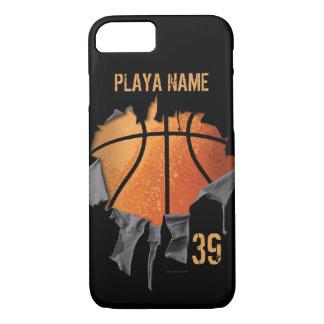 Heftiger Basketball iPhone 8/7 Hülle