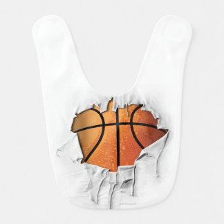 Heftiger Basketball Lätzchen