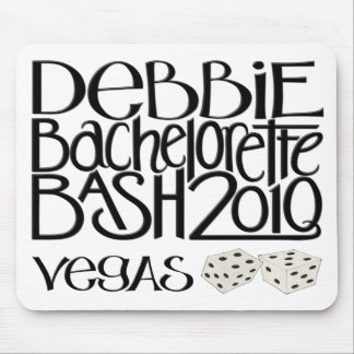 Heftiger Schlag 3D Mousepad Debbie Bachelorette
