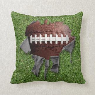 Heftiges Fußball-Dunkelheits-Kissen Kissen