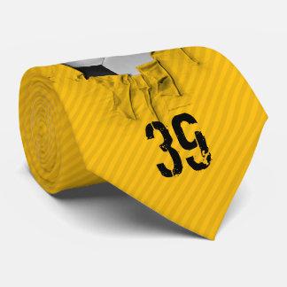 Heftiges Fußball-(personalisiertes) Weiß Bedruckte Krawatten